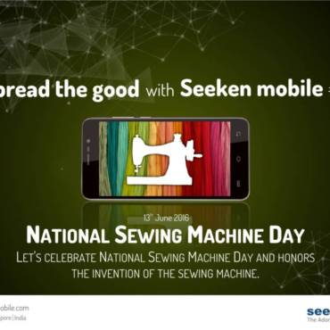 National sewing machine day – June 13