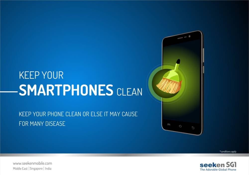 Tips to keep Smartphones clean