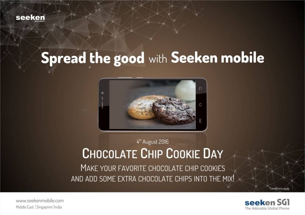 Chocolate Chip Cookie Day – August 4