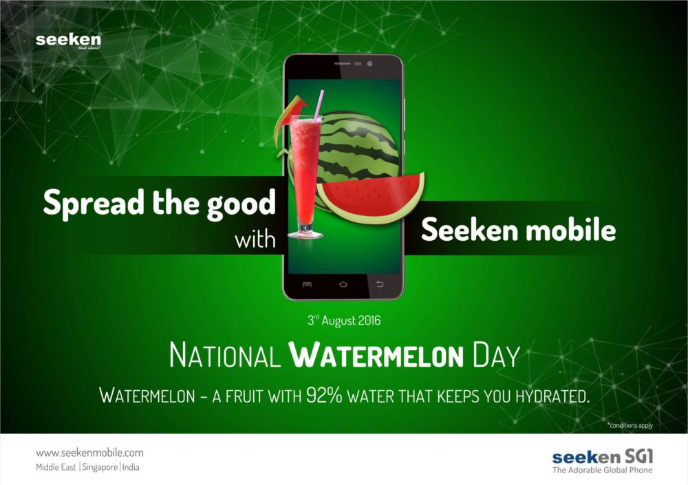 National Watermelon Day – August 3